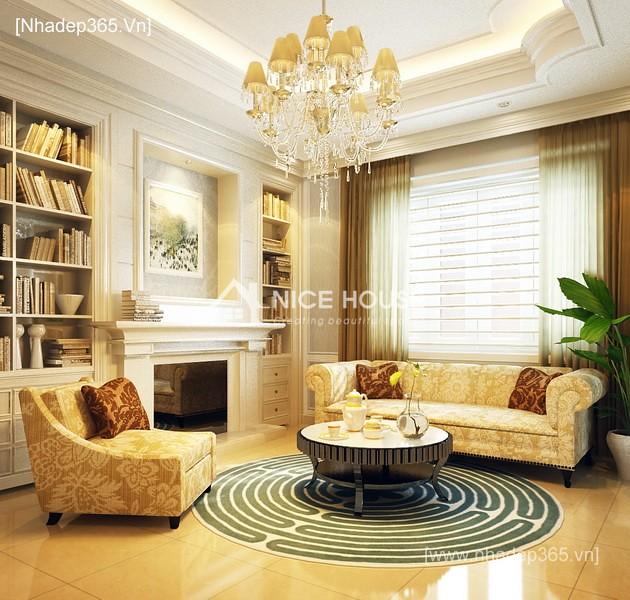Thiết kế nội thất tân cổ điển Quảng Ninh_4