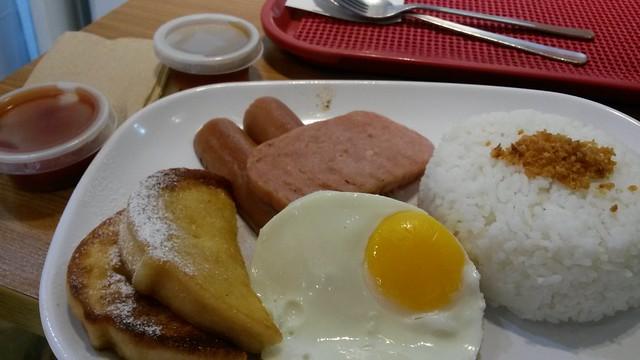 Bonchon breakfast