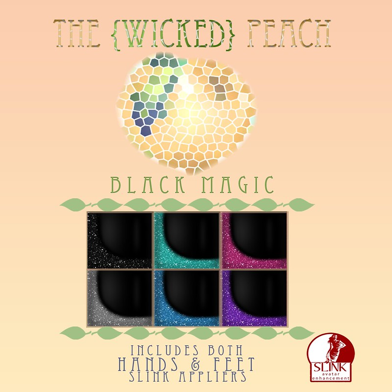 Wicked Peach Adver Black Magic