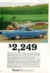 1966 Ford Ranchero Advertisement Readers Digest July 1966