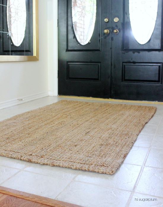 Hi Sugarplum | 5 Steps to Creating an Entrance Hall: The Rug