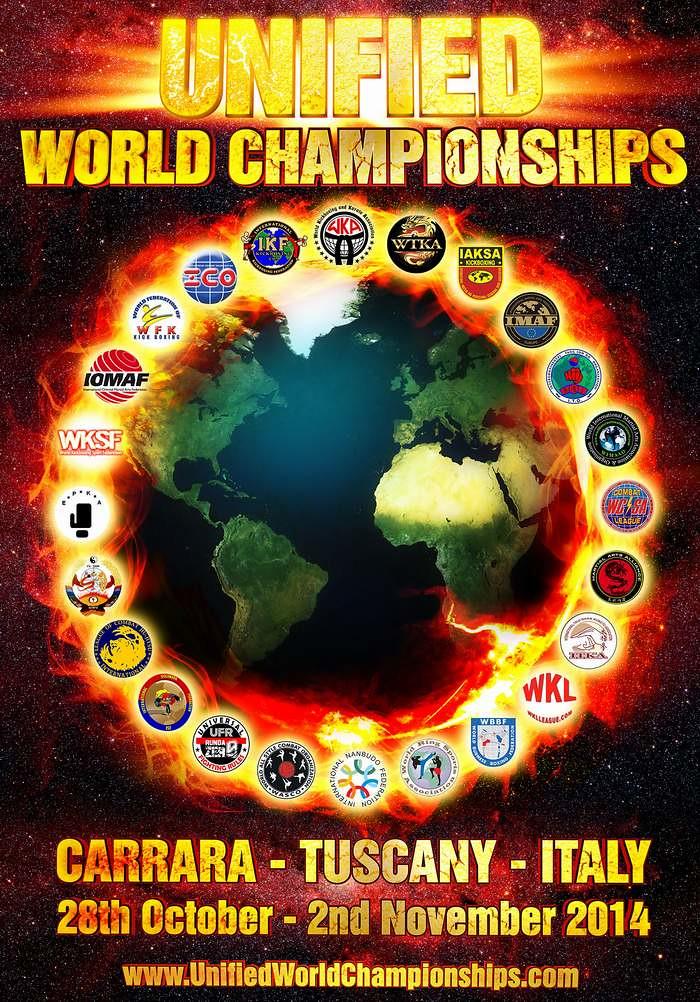 Unified World Championships ~ Carrara - Tuscany Italy