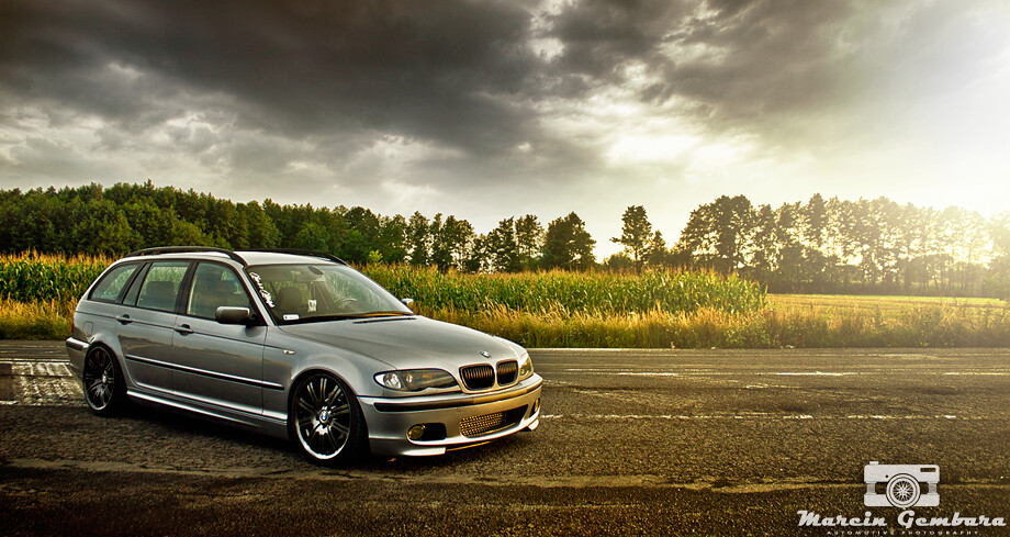 marcin g photography bmw e46 touring 320d by max. Black Bedroom Furniture Sets. Home Design Ideas