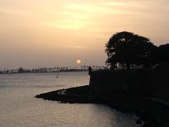 Sunset at the San Juan Gate