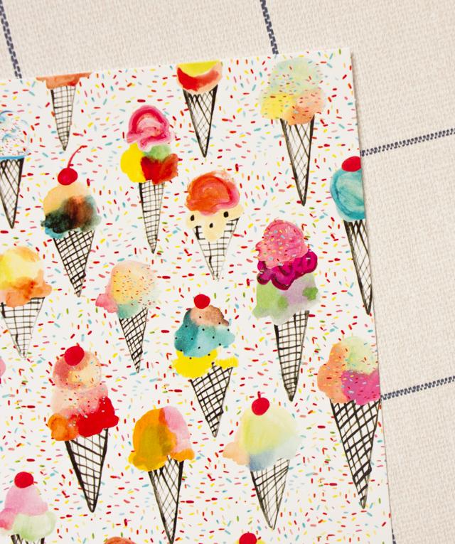pattern box - kindah khalidy ice creams