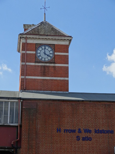 105 - Missing a few letters at Harrow & Wealdston station