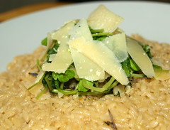 Creamy Risotto with Parmesan Shavings