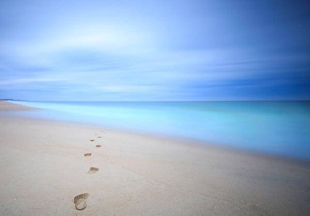 Walking into an ocean dream.... Myalup, Western Australia