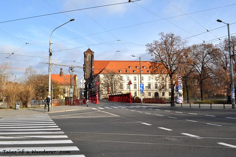 WROCŁAW - Most Piaskowy / Kościół Najświętszej Marii Panny na Piasku