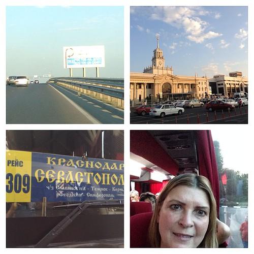 И опять ключ на старт! Впереди новый маршрут через порт Кавказ и паром, до дома - 400 км. До свидания, кубанские кошки и гостеприимные заводчики! #выставкикошек  #краснодар