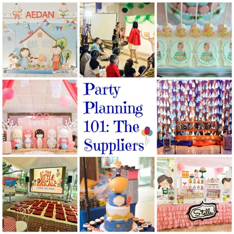 party planning 101 the suppliers