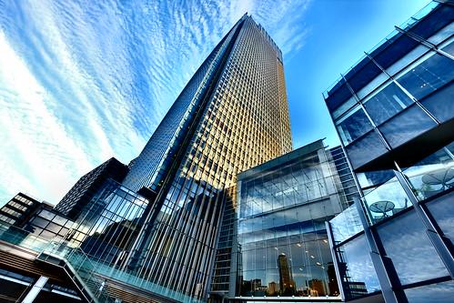 Blue sky at Tokyo Midtown