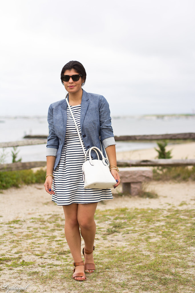 striped dress, chambray blazer-9.jpg