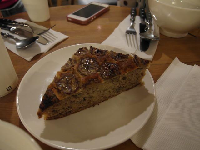 香蕉蛋糕 (NTD$60)@台北內湖,覺旅咖啡 Journey Kaffe