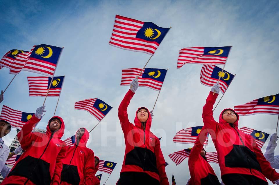Malaysia 57th Merdeka (Independence) Day celebration Full Rehearsal @ Kuala Lumpur, Malaysia