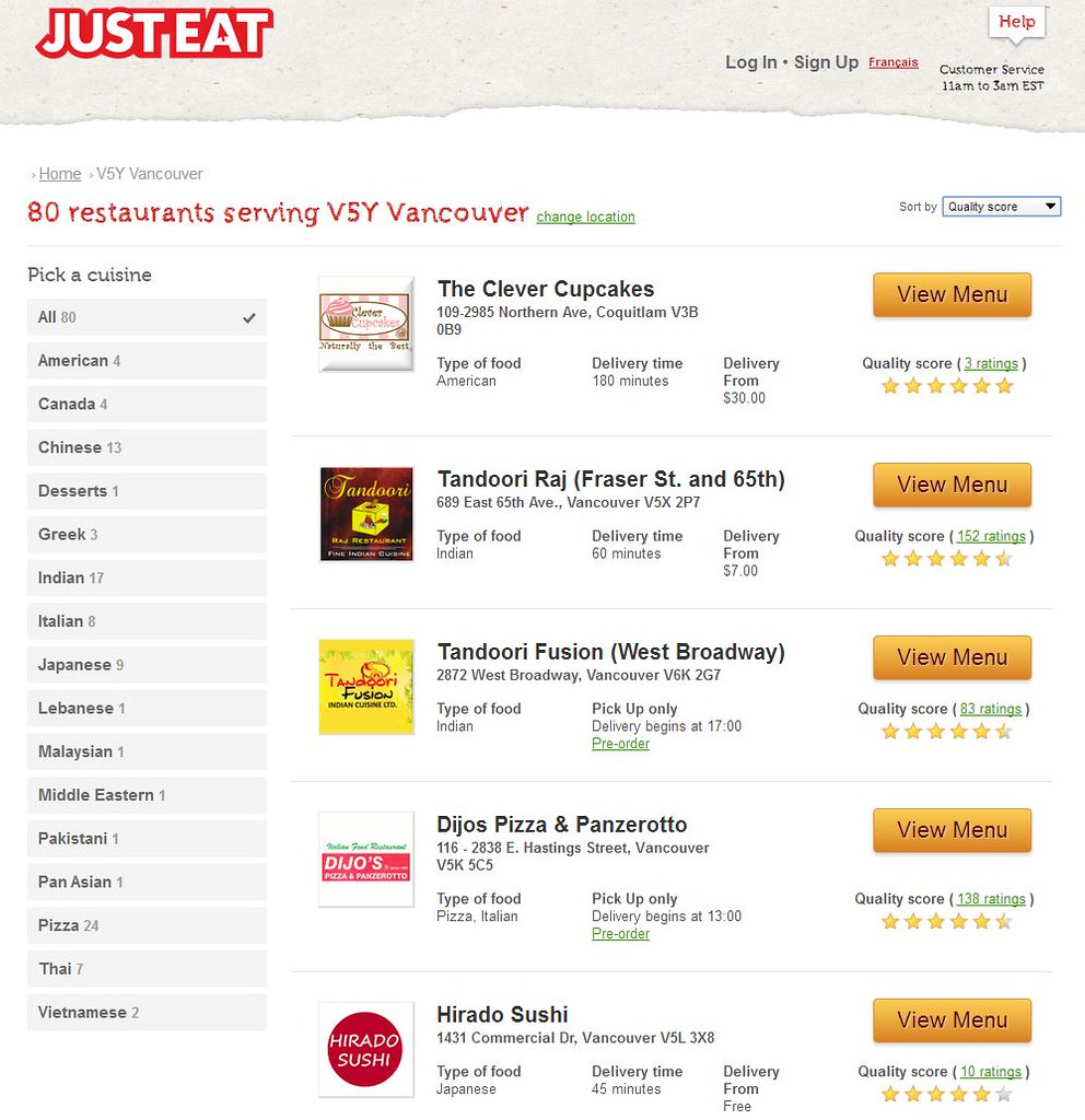 UST EAT Order Food Delivery Take Out App