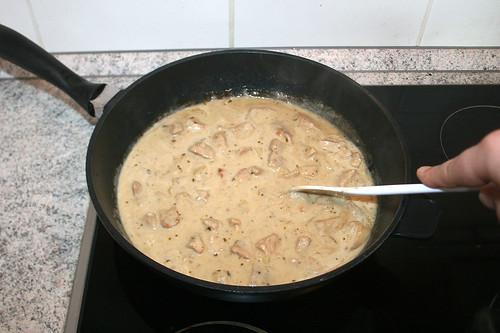 39 - Gut verrühren & offen köcheln lassen / Mix well & simmer open