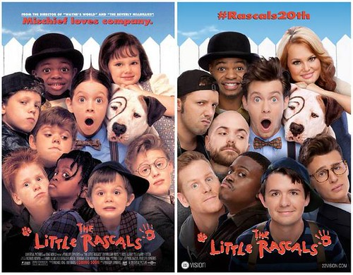Little Rascals Then and Now