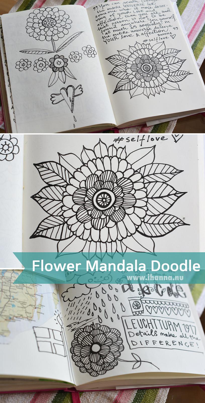 iHanna's Flower Mandala Doodle