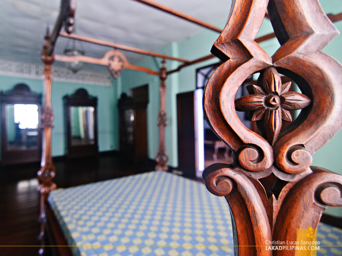 Atay Bed at Syquia Mansion in Vigan City