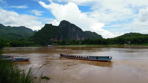 water weather river landscape nikon kayak laos province luangprabang 2014 namou p300