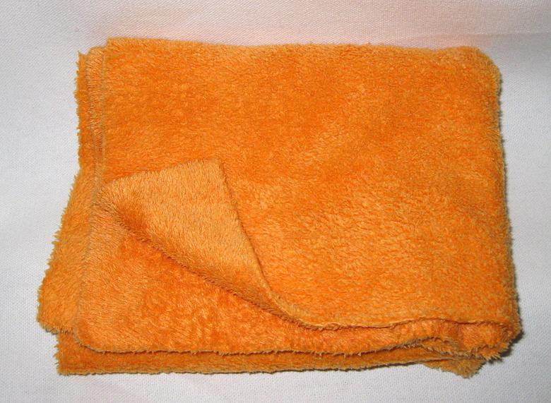 plush microfiber towel