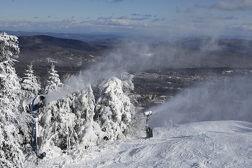 Mount Snow-making