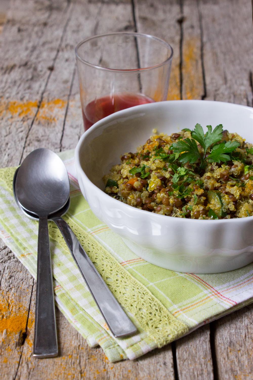 Quinoa e lenticchie di Santo Stefano di Sessanio