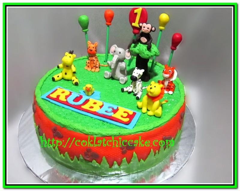 Cake Kebun Binatang