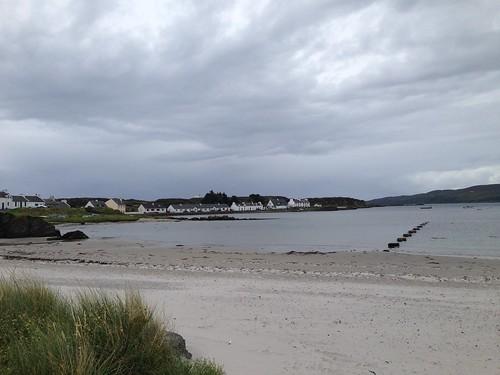 The beach at Port Ellen, Islay