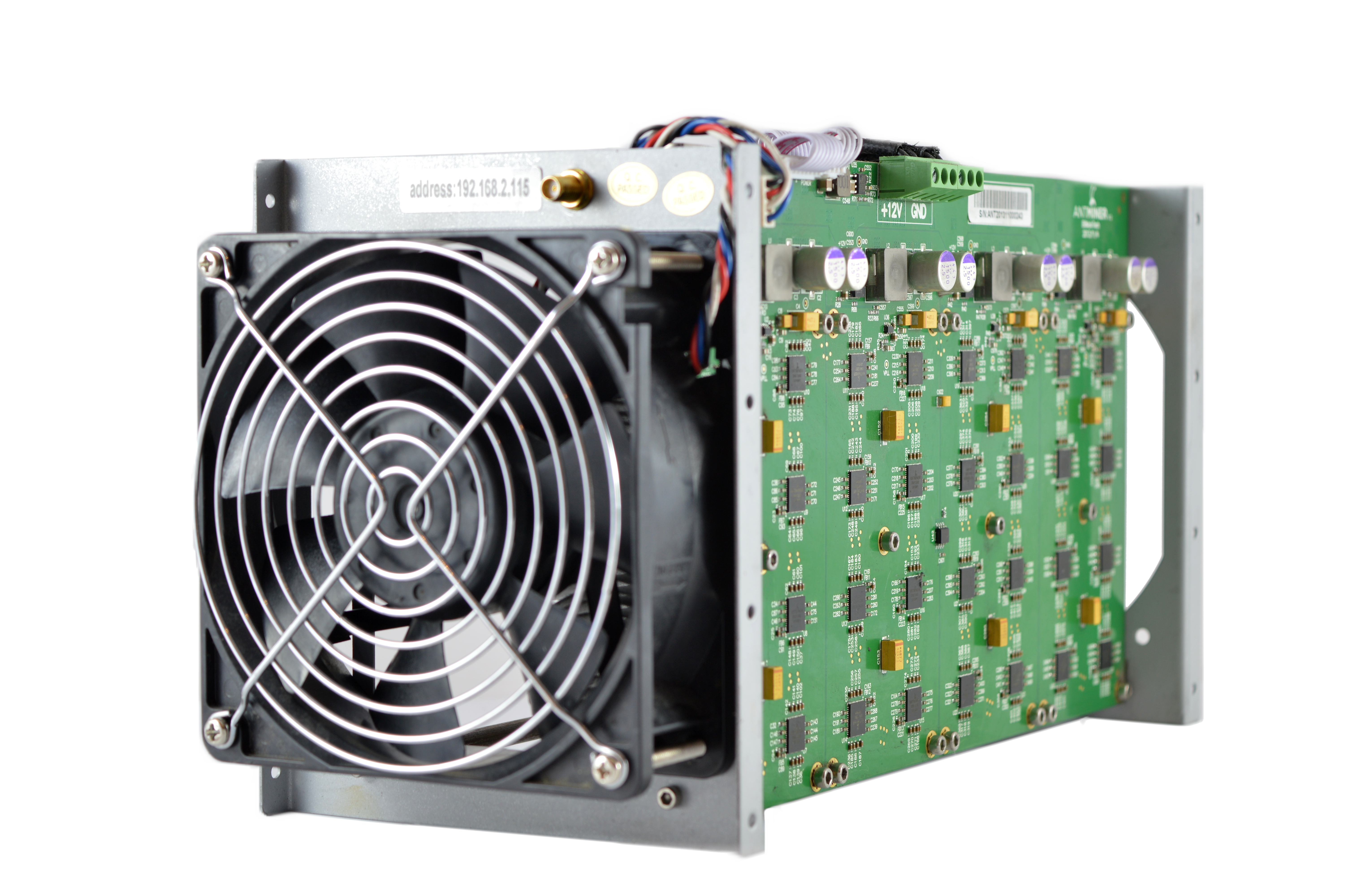 antminer s1 cooling