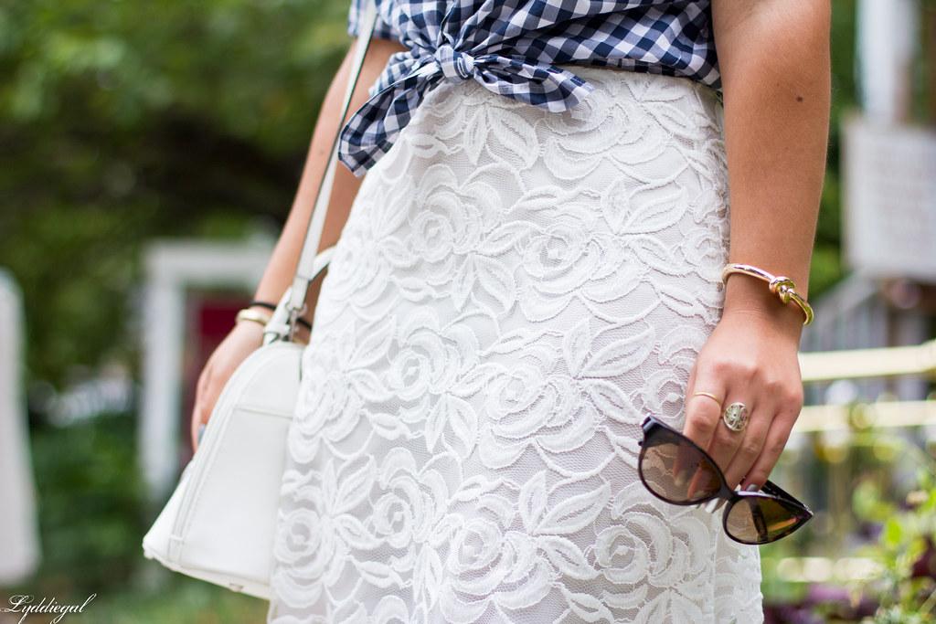 Lace skirt, gingham shirt, cherry pumps-4.jpg