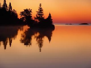Sunrise at Chippewa Harbor