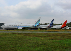 Stored 737 Classics - Bournemouth 13-9-14