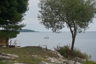 Waterfront riding along Lake Erie