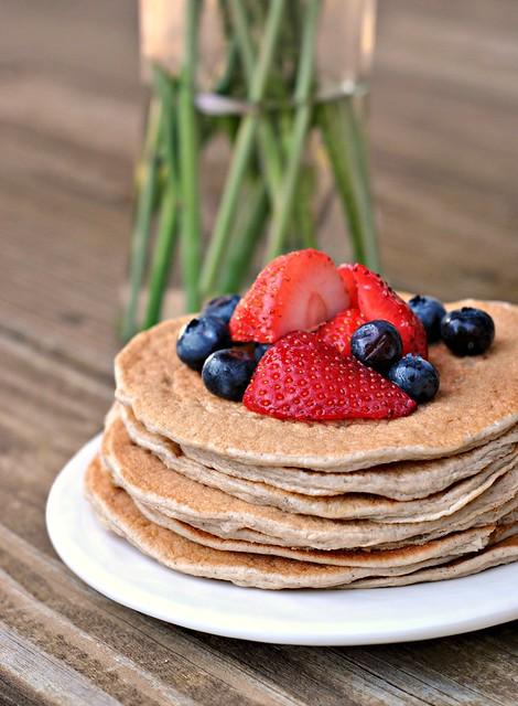 Cinnamon Whole Grain Power Pancakes 4