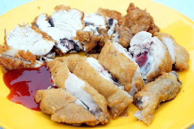 pudu wai sik kai - fried chicken