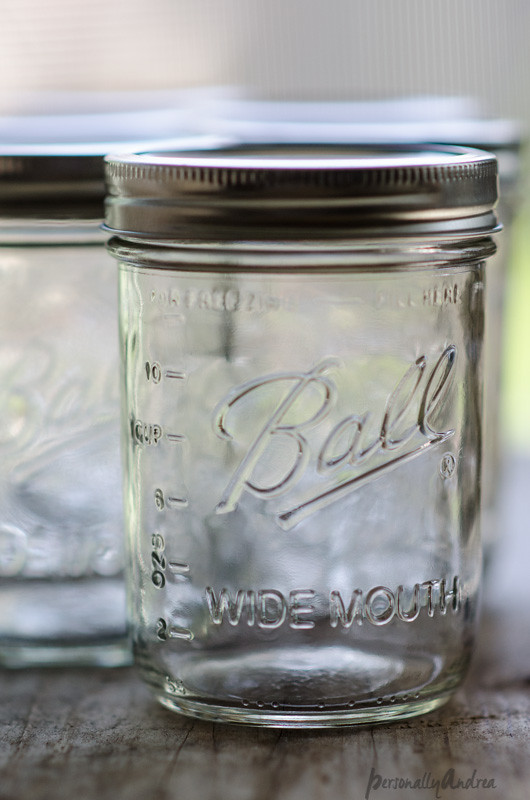 Mason Jar | How to take this photograph series | personallyandrea.com
