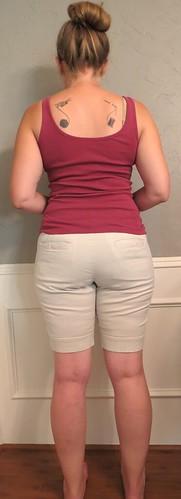 Khaki Skirt - Before