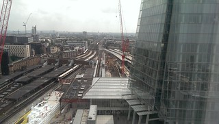 London Bridge - platforms destroyed!