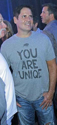 Mark Cuban You Are Uniqe T-Shirt By Sportiqe Apparel