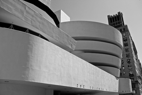 New York, the Guggenheim Museum