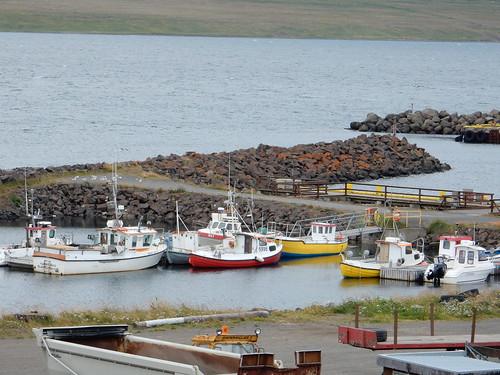 Harbour at Hvammstangi