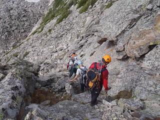Descending Little Matterhorn Ramp