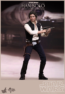 Hot Toys – MMS261 – 星際大戰:四部曲 曙光乍現【韓索羅】1/6 比例 Star Wars Han Solo