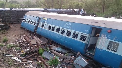 ir accident passenger cr indianrailways derailment railfanning centralrailway irfca 50105 railphotography