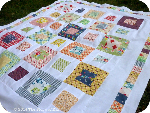 DS Picnic Quilt, detail