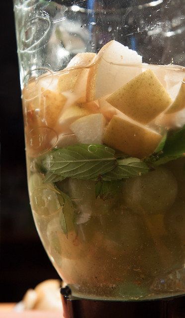 Asian Pear Sangria