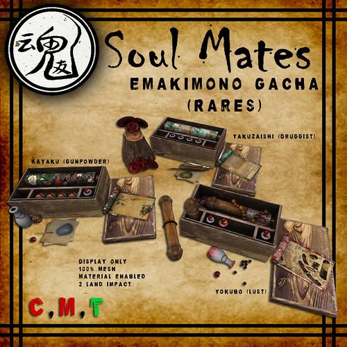 [Soul Mates] Emakimono Rare