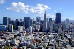 San Francisco downtown tight